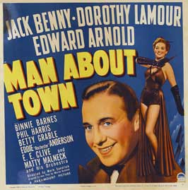 Man About Town - 22 x 28 Movie Poster - Half Sheet Style A