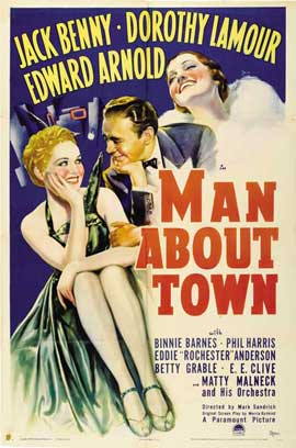 Man About Town - 11 x 17 Movie Poster - Style B