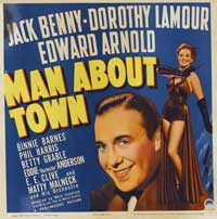 Man About Town - 30 x 30 Movie Poster - Style A
