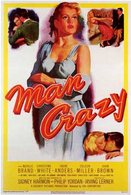 Man Crazy - 11 x 17 Movie Poster - Style A