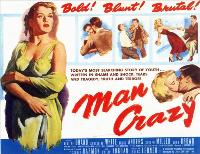Man Crazy - 30 x 40 Movie Poster UK - Style A