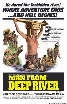 Man From Deep River - 11 x 17 Movie Poster - Style A