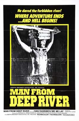 Man From Deep River - 27 x 40 Movie Poster - Style B