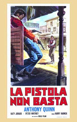 Man from Del Rio - 11 x 17 Movie Poster - Italian Style A