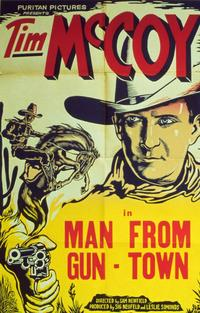 Man from Guntown - 11 x 14 Movie Poster - Style A