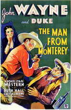 Man from Monterey - 11 x 17 Movie Poster - Style B