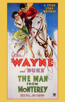 Man from Monterey - 11 x 17 Movie Poster - Style A