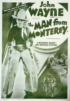 Man from Monterey - 11 x 17 Movie Poster - Style C