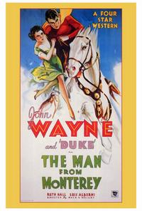 Man from Monterey - 27 x 40 Movie Poster - Style A