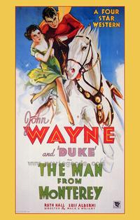 Man from Monterey - 43 x 62 Movie Poster - Bus Shelter Style A