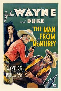 Man from Monterey - 27 x 40 Movie Poster - Style B