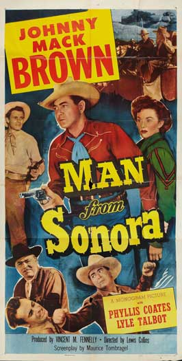 Man from Sonora - 11 x 17 Movie Poster - Style A