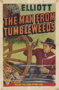 The Man from Tumbleweeds - 11 x 17 Movie Poster - Style A