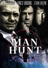 Man Hunt - 11 x 17 Movie Poster - Style A