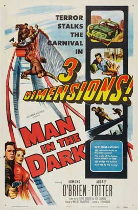 Man in the Dark - 11 x 17 Movie Poster - Style A