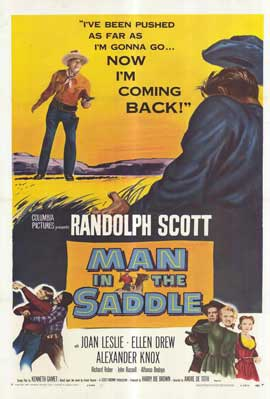 Man in the Saddle - 11 x 17 Movie Poster - Style A