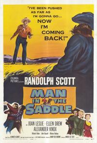 Man in the Saddle - 27 x 40 Movie Poster - Style A