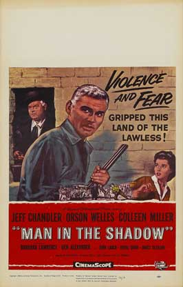 Man in the Shadow - 11 x 17 Movie Poster - Style A