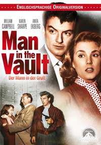 Man in the Vault - 11 x 17 Movie Poster - German Style A