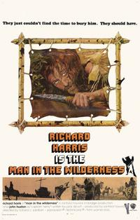 Man in the Wilderness - 11 x 17 Movie Poster - Style A