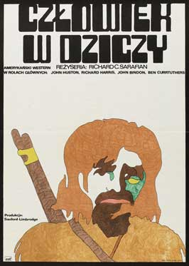 Man in the Wilderness - 27 x 40 Movie Poster - Polish Style A