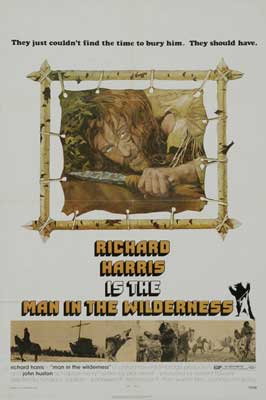 Man in the Wilderness - 11 x 17 Movie Poster - Style B