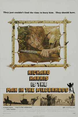 Man in the Wilderness - 27 x 40 Movie Poster - Style B