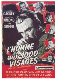 Man of a Thousand Faces - 11 x 17 Movie Poster - French Style A