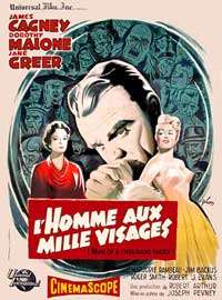 Man of a Thousand Faces - 11 x 17 Movie Poster - French Style C