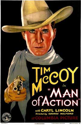 Man of Action - 11 x 17 Movie Poster - Style A