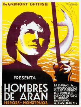Man of Aran - 27 x 40 Movie Poster - Spanish Style A