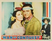 Man of Conquest - 11 x 14 Movie Poster - Style A