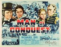 Man of Conquest - 11 x 14 Movie Poster - Style B