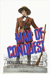 Man of Conquest - 27 x 40 Movie Poster - Style A