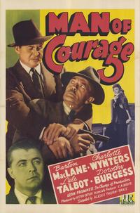 Man of Courage - 11 x 17 Movie Poster - Style A