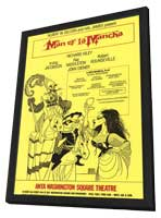 Man Of La Mancha (Broadway) - 27 x 40 Poster - Style A - in Deluxe Wood Frame