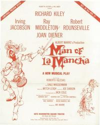 Man Of La Mancha (Broadway) - 14 x 22 Poster - Style A