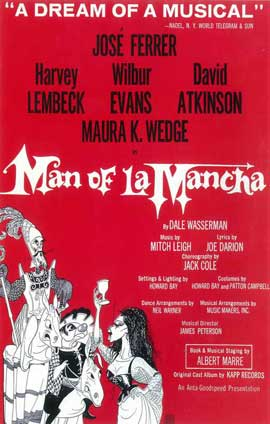 Man Of La Mancha (Broadway) - 14 x 22 Poster - Style B