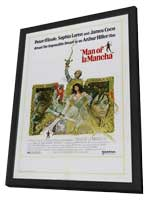 Man of La Mancha - 27 x 40 Movie Poster - Style A - in Deluxe Wood Frame