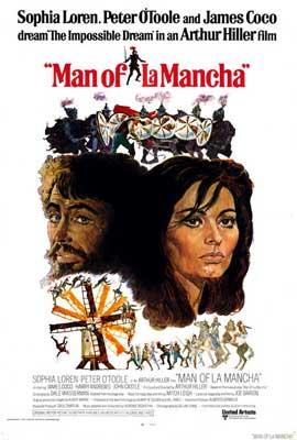 Man of La Mancha - 27 x 40 Movie Poster - Style B