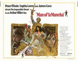Man of La Mancha - 22 x 28 Movie Poster - Half Sheet Style A