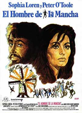 Man of La Mancha - 11 x 17 Movie Poster - Spanish Style A