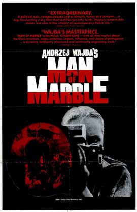 Man of Marble - 11 x 17 Movie Poster - Style A