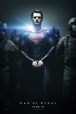 Man of Steel - 11 x 17 Movie Poster - Style B
