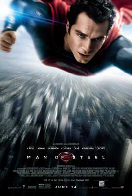 Man of Steel - 27 x 40 Movie Poster - Style C