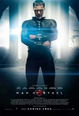 Man of Steel - 27 x 40 Movie Poster - UK Style A