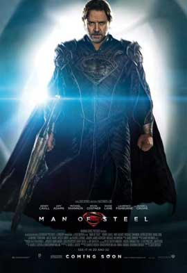 Man of Steel - 27 x 40 Movie Poster - UK Style B