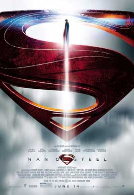 Man of Steel - 27 x 40 Movie Poster - Style E