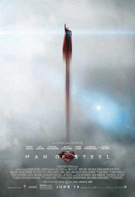 Man of Steel - 11 x 17 Movie Poster - Style F