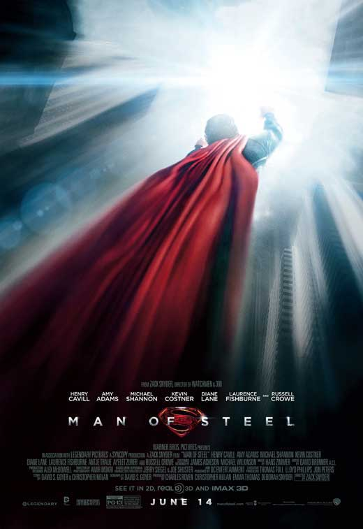 Man of Steel Movie Poster Style D
